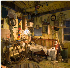 Karlssons Kamer, opgebouwd